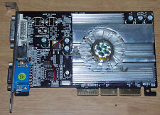 NVIDIA GeForce FX 5500 256mb scheda grafica DDR AGP 8x VGA DVI TV GRAPHIC CARD