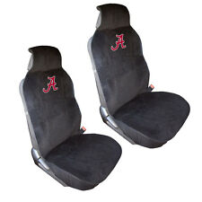 Brand New NCAA Alabama Crimson Tide Car Truck 2 Front Side-Less Seat Covers Set