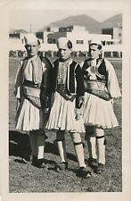 TIRANA c. 1937 - Étudiants  Costumes Traditionnels Nationaux  Albanie - P 1366