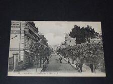 CPA CARTE POSTALE FRANCE 1910 CALVADOS 14 CABOURG AVENUE DE LA MER