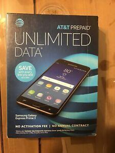 "Samsung Galaxy J3 Express Prime 2 5"" 16GB Smartphone - Dark Gray (AT&T)"