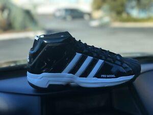 New Adidas Pro Model 2G Men's Basketball Shoes Black  Mens Size 10