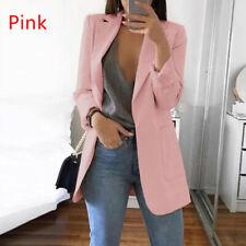 Women Long Sleeve Cardigan Jacket Casual Blazer Suit Top Jacket Coat Outwear