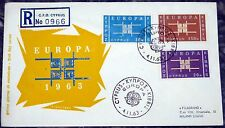 Brief FDC Zypern Cyprus 1963 Europa Cept (5