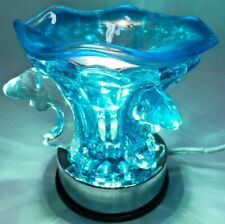 Electric Touch Fragrance Lamp/Oil Burner/Wax Warmer/Night Light -Dolphin Design
