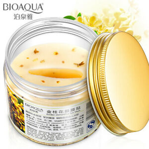 BIOAQUA Gold Osmanthus Eye Mask 80 Pcs Women Collagen Gel Protein Nourish