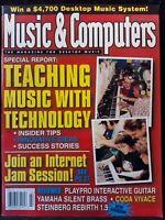Music & Computers Desktop Music Magazine Issue January / February 1998