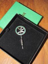 Vorwerk grüne Kobold Anstecknadel, in Originalschatulle
