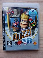 Buzz Brain of the UK (Sony PlayStation 3, 2009) PS3 - Family Entertainment - VGC
