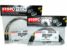 Stoptech Stainless Steel Braided Brake Lines (Front & Rear Set / 35003+35502)