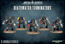 Deathwatch Terminators Terminator Squad Space Marines Warhammer 40k NEW