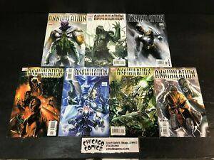 Annihilation #1-6 + Prologue COMPLETE SERIES SET!! Marvel 2006 FN-NM Guardians