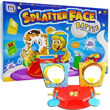 Splatter Face Battle Game for Two Players See Who Gets Pie Face Splat First !