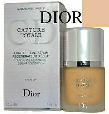 100%AUTHENTIC DIOR CAPTURE TOTALE RADIANCE Serum Foundation 033 APRICOT BEIGE
