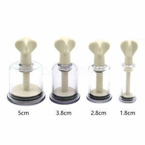 Vacuum Twist Rotary Cupping Set Nipple Breast Suckers Enlargement Suction
