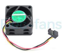 SUNON PMD1204PQBX-A fan 40X40X28mm 4CM 12V 6.8W 3pin #M2051 QL KC1