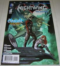 NIGHTWING ANNUAL #1 NEW 52 (DC Comics 2013) BATGIRL WANTED! tie-in (FN/VF) RARE