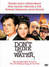 Don't Drink The Water (DVD) WOODY ALLEN/ MAYIM BIALIK/ MICHAEL J FOX