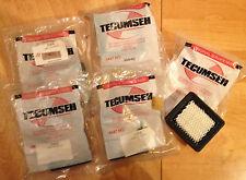 2 Stück Luftfilter Tecumseh für Rasenmäher Motoren 36046