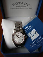 GENTS ROTARY WATCH ON BRACELET BRAND NEW IN BOX WITH 2 YEAR GUARANTEE