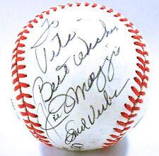 Joe Dimaggio Emil Verban Signed Autograph Baseball Auto JSA LOA B79860 Yankees
