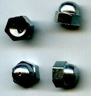 SILVER CROSS DOLLS COACH BUILT PRAM hood arm NUT oberon cottingley spare part BN