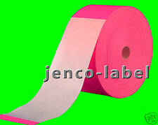 FR3900P, 500 3x9 Pink Fluorescent Color Code Label