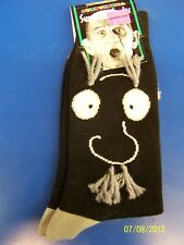 Old Geezer Survival Socks Man Black Over the Hill Birthday Party Favor Gag Gift