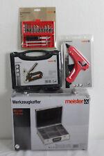 Werkzeugkoffer Meister Set Tool Case , 9095130+5414510+Handtacker1735210+4268800