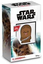 2020 Niue Star Wars Chibi Chewbacca 1 oz Silver Colorized Proof $2 Coin GEM OGP