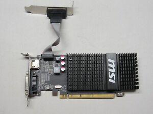 MSI Radeon R5 230 2GD3H LP 2GB GDDR3 PCIe 2.1 x16 Video Card HDMI/DVI/VGA