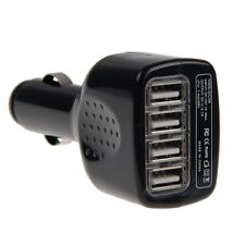 4 USB Voiture Cigare Allume Chargeur Adaptateur iPhone 6 Plus 5 5S iPad Samsung