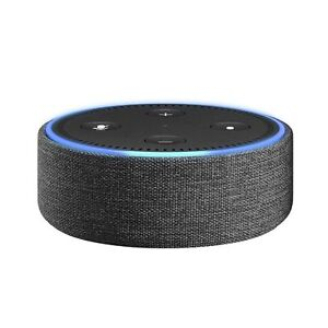 Amazon Echo Dot Case (fits 2nd Generation only) - Charcoal Fabric