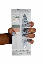 DinkiBelle Marble Nail Wraps lasts up to 14 days UK quality (pack of 20)