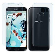3x FX-Curved-Clear Schutzfolie Samsung Galaxy S7 Edge Displayfolie Folie