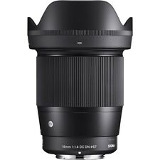 Sigma 16mm F1.4 DC DN Contemporary Lens in Sony E Fit
