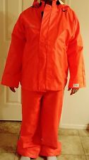 Nasco Sentinel Protective Bib Style Pants and Jacket w/ Hat ARC Flash Fire Large