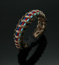 Help for Heroes (Unofficial) & SSAFA Camo British Forces 550 Paracord Bracelet