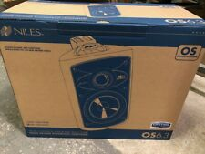 PAIR - Niles OS 6 WHITE 2-Way High Performance Indoor Outdoor Speakers - NEW