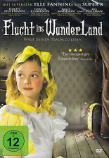 DVD NEU/OVP - Flucht ins Wunderland - Elle Fanning & Felicity Huffmann