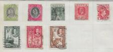 8 Niger Coast Protectorate & Nigeria Stamps from Quality Old Antique Album