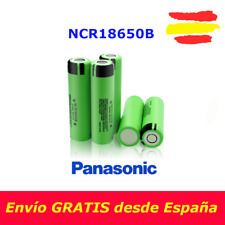 Pila recargable Panasonic 100% ORIGINAL 18650 3400mAh NCR18650B 3,7V