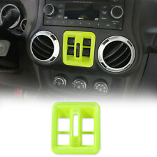 Window Lift Switch Button Decor Cover for Jeep Wrangler JK 2011-2017 Accessories