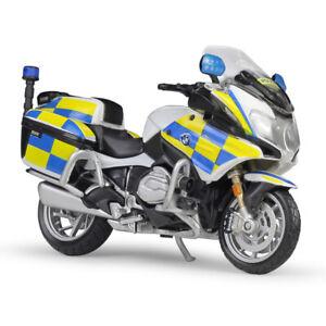 MAISTO 1:18 BMW R1200RT UK R 1200 RT Police MOTORCYCLE BIKE DIECAST MODEL