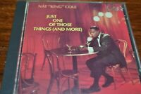 NAT KING COLE     JUST ONE OF THOSE THINGS AND MORE      CD  ALBUM   1987
