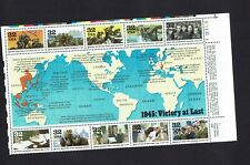 USA...1945 VICTORY AT LAST..32 cent SOUVENIR SHEET...MUH