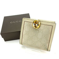 Auth GUCCI W Hook Wallet GUCCI Shima Women''s used J11774