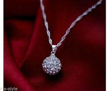 Runde Modeschmuck-Halsketten & -Anhänger aus Metalllegierung mit dem Thema Glück