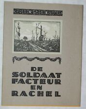 Arne Sierens De SOLDAAT FACTEUR en RACHEL - GESIGNEERD en Genummerd !! - 1987