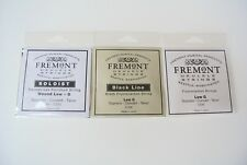 Fremont Brand Low G Ukulele Single String 3 Kinds Soloist Backline Clear